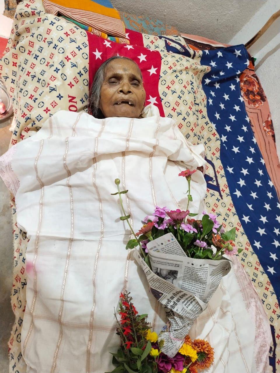 परमवीर चक्र विजेता  अल्बर्ट एक्का की पत्नी बलमदीना एक्का  का निधन