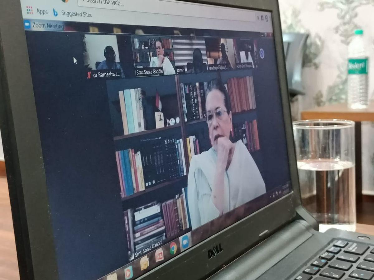 सोनिया गांधी ने झारखंड में कोरोना के हालात की ली जानकारी