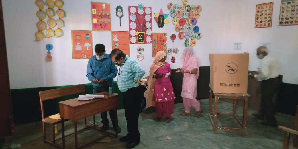 मेरठ जनपद में हुआ 73.25 प्रतिशत मतदान
