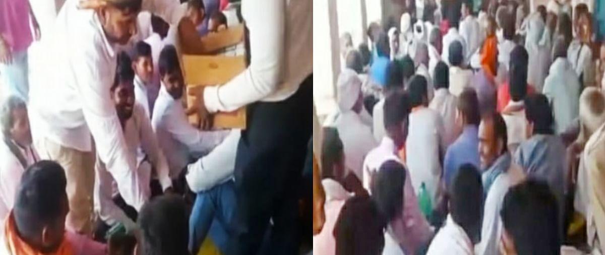 पंचायत चुनाव : चुनावी सभा में शराब बांटने वाले दो अभियुक्त गिरफ्तार