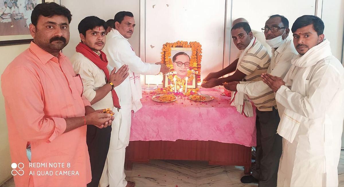 भाजपा ने डॉ. अंबेडकर की जयंती को सुशासन दिवस व सपा ने बहुजन दीवाली के रूप में मनाया
