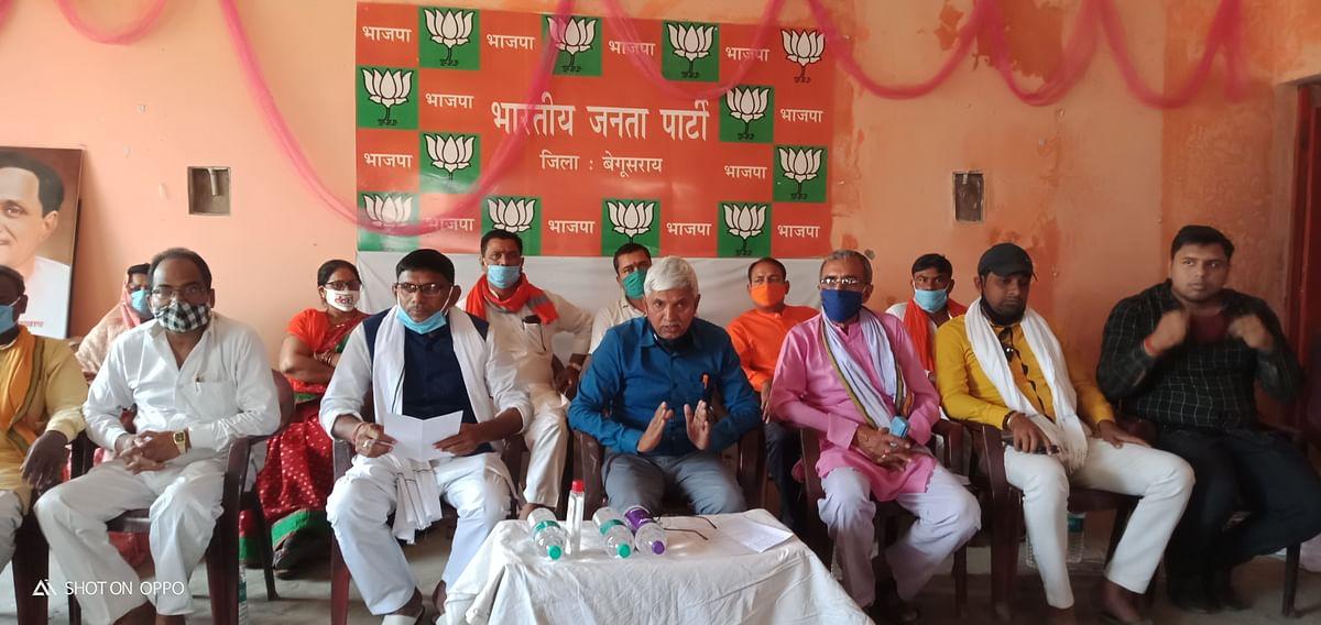 जनता के उम्मीदों और वादों को पूरा कर रहे हैं भाजपा के जनप्रतिनिधि : राजकिशोर सिंह