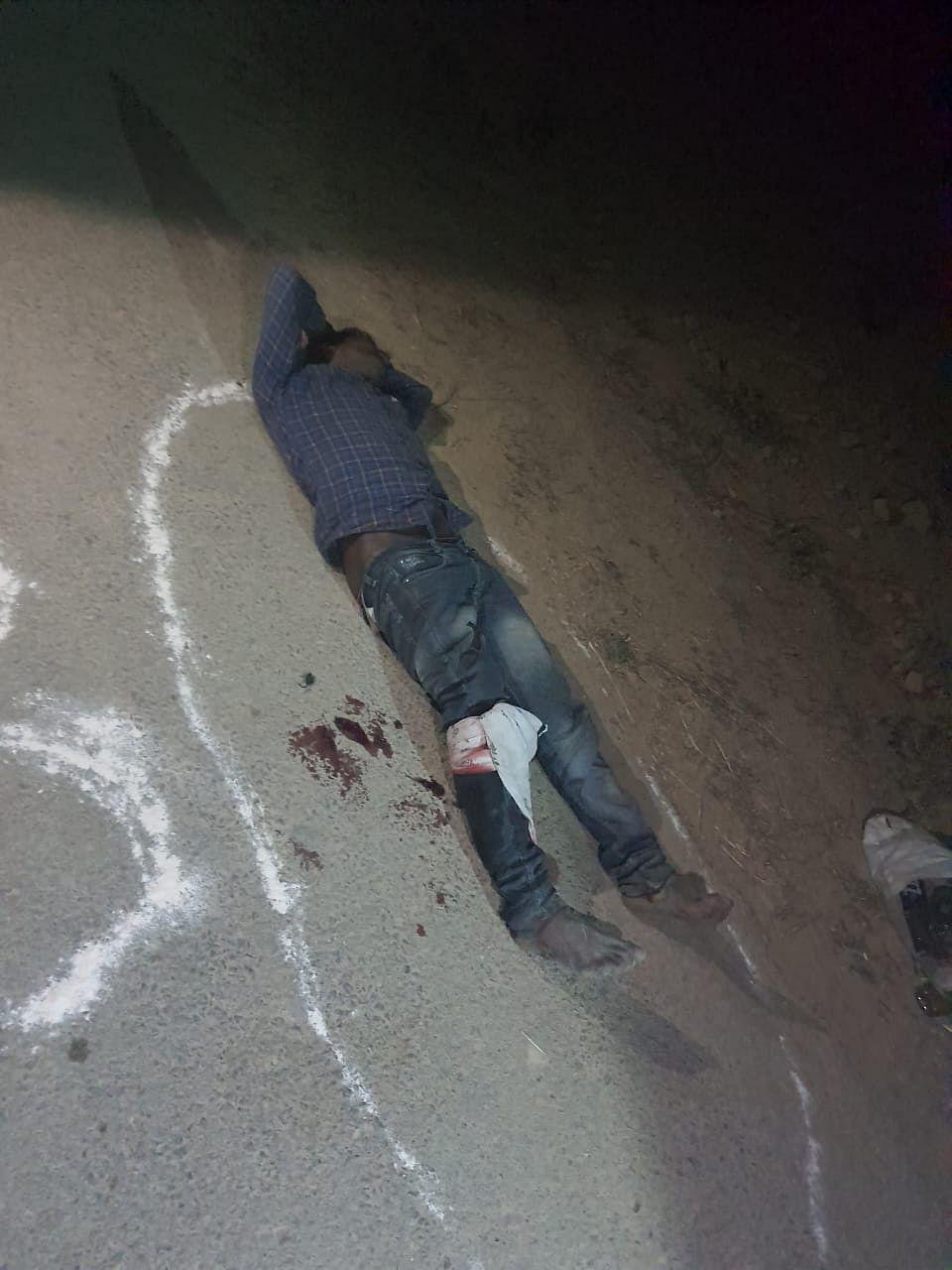 prayagraj-injured-in-shooting-in-liquor-mafia-police-encounter