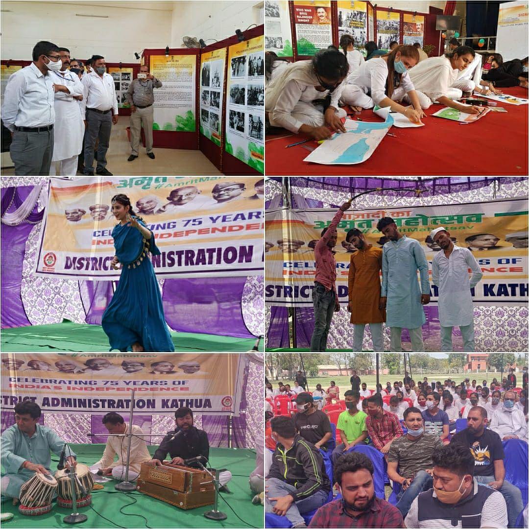 'आजादी का अमृत महोत्सव' के उपलक्ष पर पांच दिवसीय विशेष कार्यक्रमों का हुआ धूमधाम से समापन
