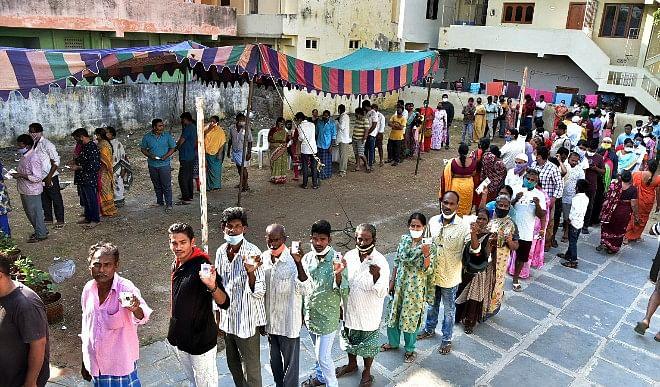 हिमाचल प्रदेश में चार नगर निगमों के 64 वार्ड के लिए मतदान जारी, 279 उम्मीदवार मैदान में