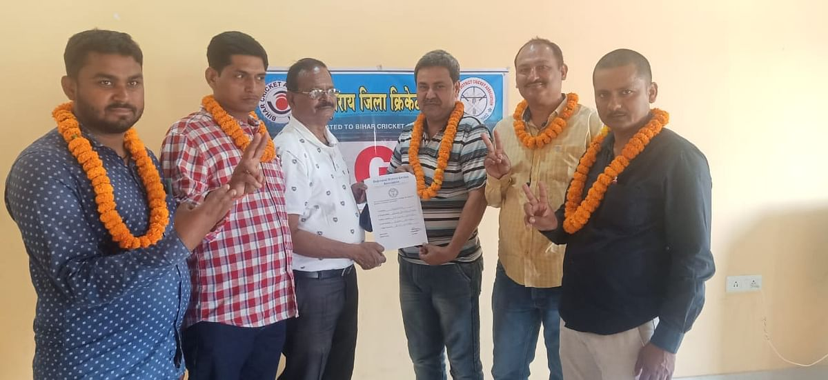 rajnayan-becomes-president-of-district-cricket-association-viresh-becomes-tournament-committee-convenor