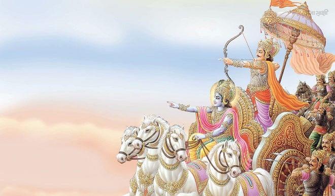 Gyan Ganga: सम्पूर्ण सृष्टियों में हर जीव के आदि, मध्य और अंत में विद्यमान हैं भगवान