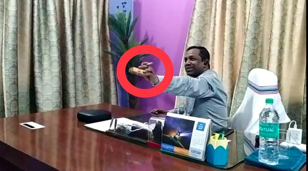ऑफिस में सिगरेट का कश लगाते हुए डीटीओ का वीडियो हुआ वायरल, डीसी ने लिया संज्ञान