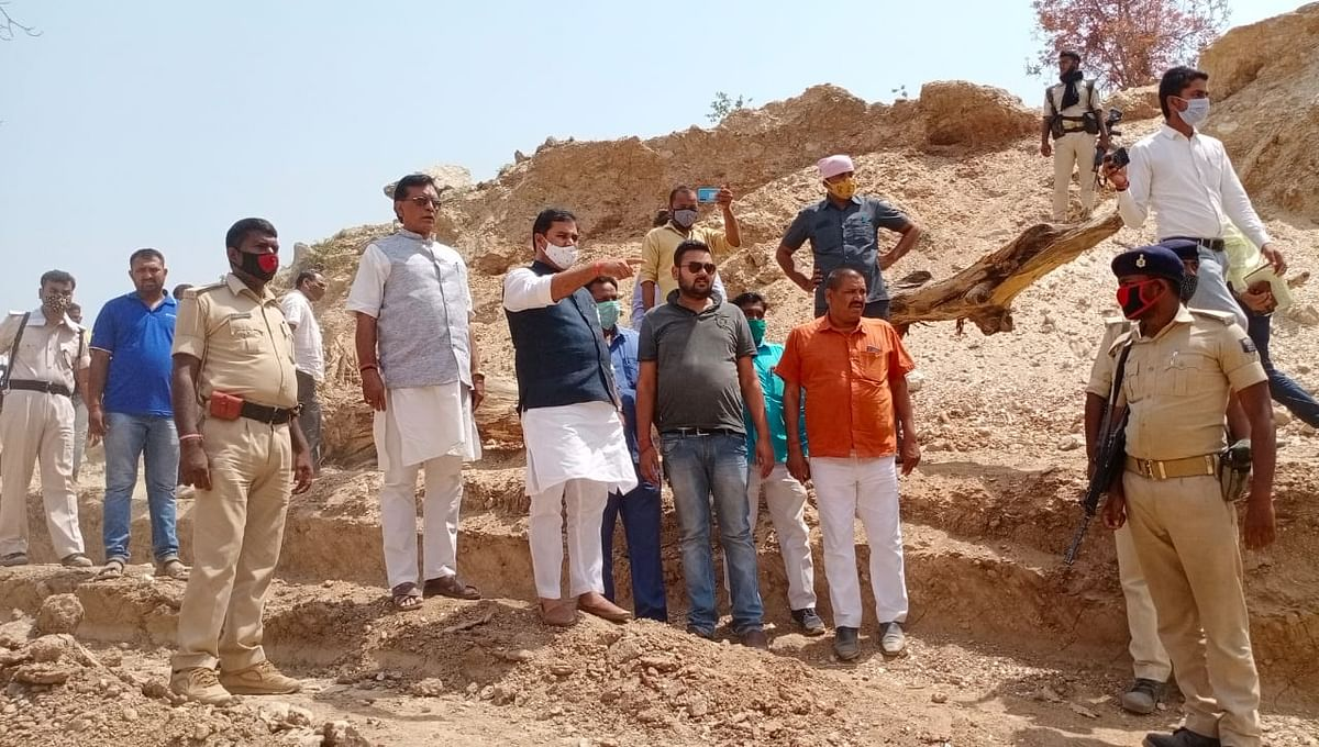 mining-minister-inspected-sharda-abarkh-mines-of-nawada