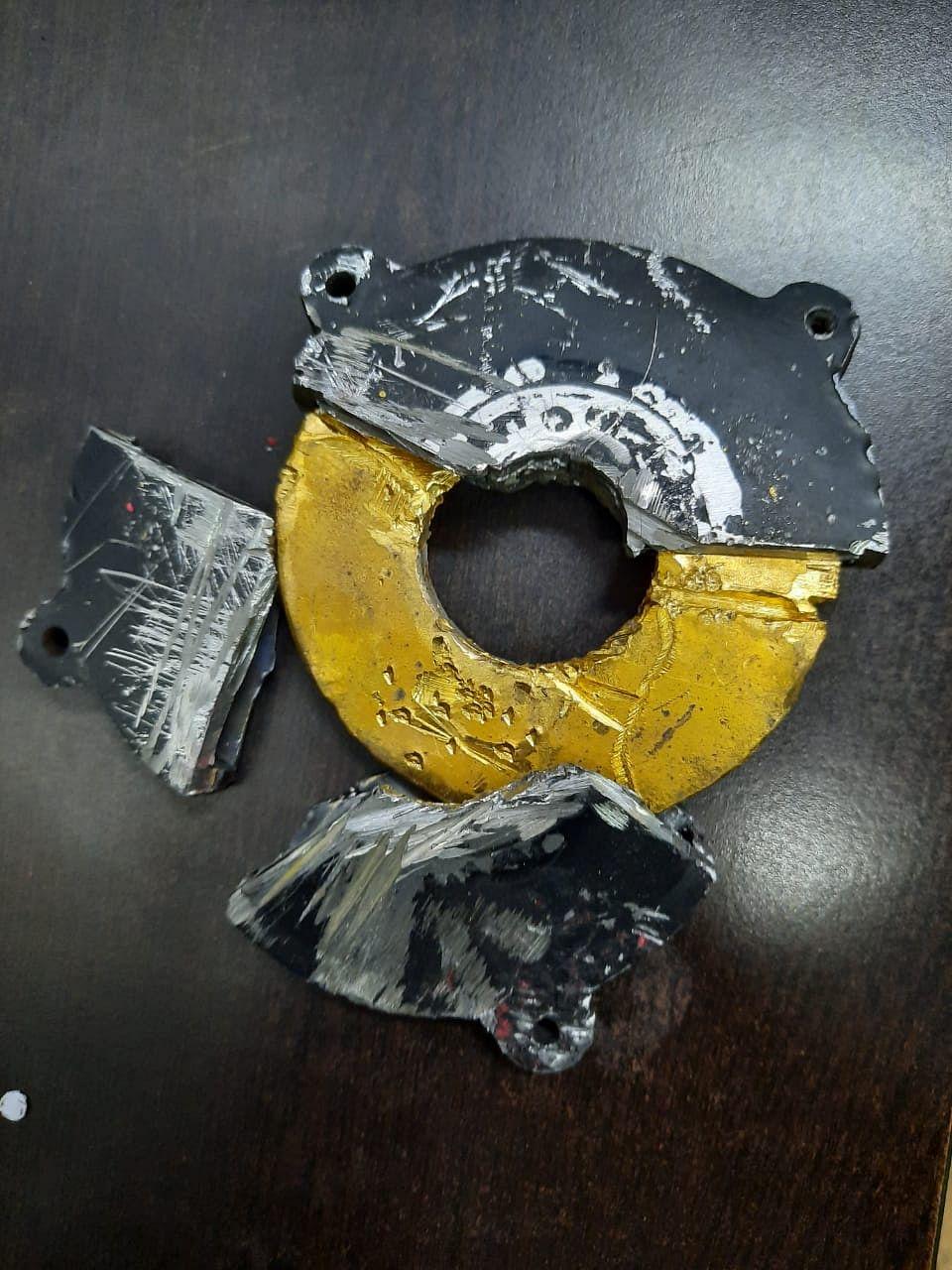 दुबई से छिपाकर ला रहा था सोना, कस्टम विभाग ने पकड़ा