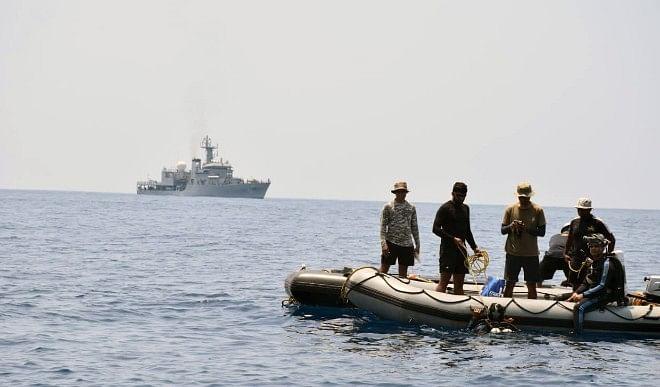 गुजरात के समुद्री तटट पर पकड़े गये 8 पाकिस्तानी, पास से बरामद हुई 150 करोड़ हेरोइन