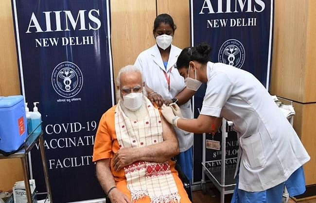 pm-modi-takes-second-dose-of-corona-vaccine