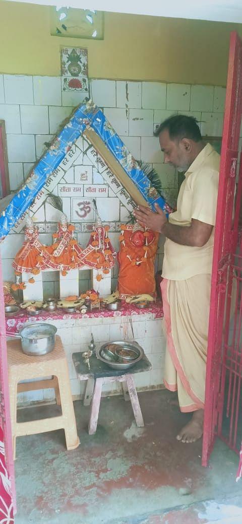 कोरोना काल में सादगी से मनायी रामनवमी