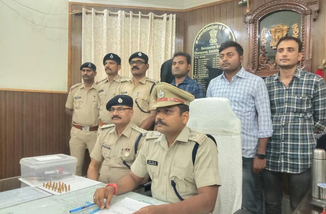 motihari-police-arrested-three-criminals-planning