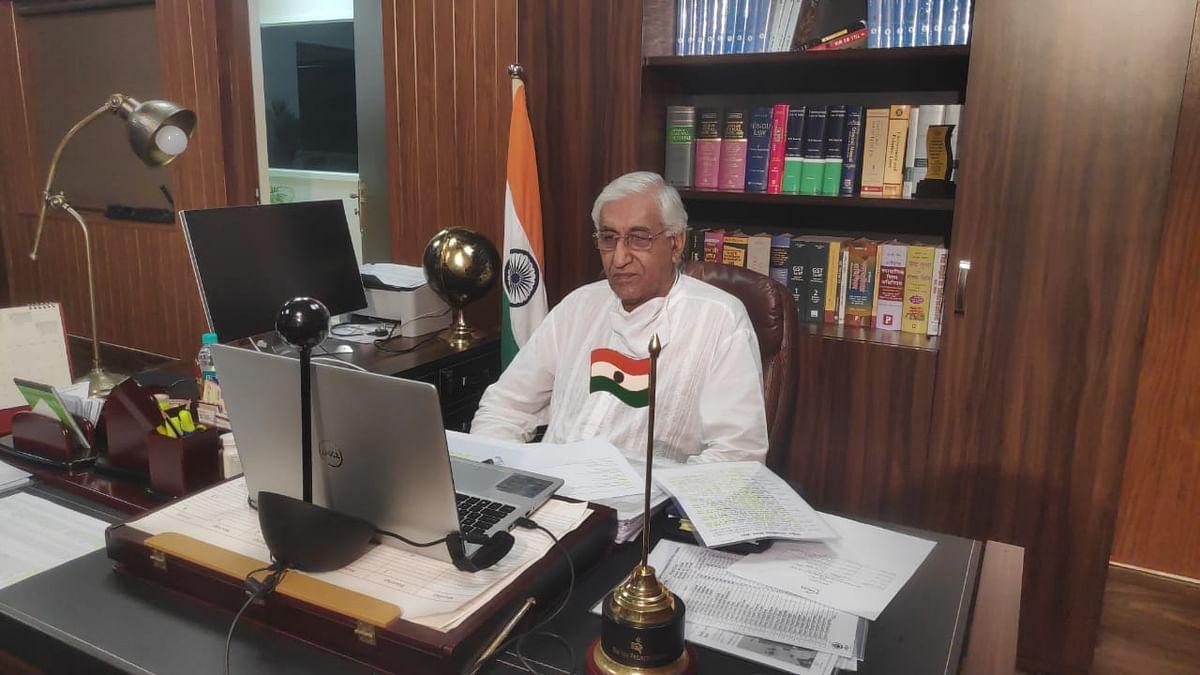 रायपुर : स्वास्थ्य मंत्री टीएस सिंहदेव एफआईसीसीआई की वर्चुअल बैठक में हुए शामिल