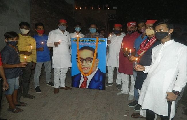 varanasi-sp-celebrates-dalit-diwali-on-ambedkar-jayanti
