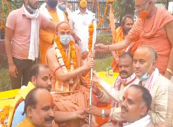 establishment-of-parashuram-dharmadhwaja-in-kumbh