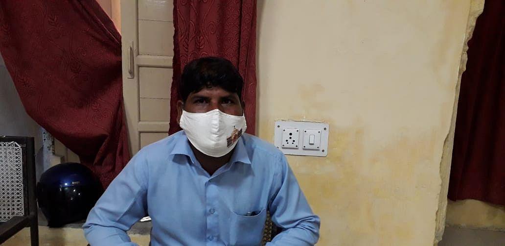 नगर निगम हैरिटेज जयपुर का जमादार पांच हजार रुपये की रिश्वत लेते गिरफ्तार