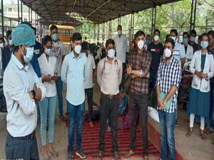 रायपुर : जूनियर डॉक्टरों की हड़ताल दूसरे दिन भी जारी