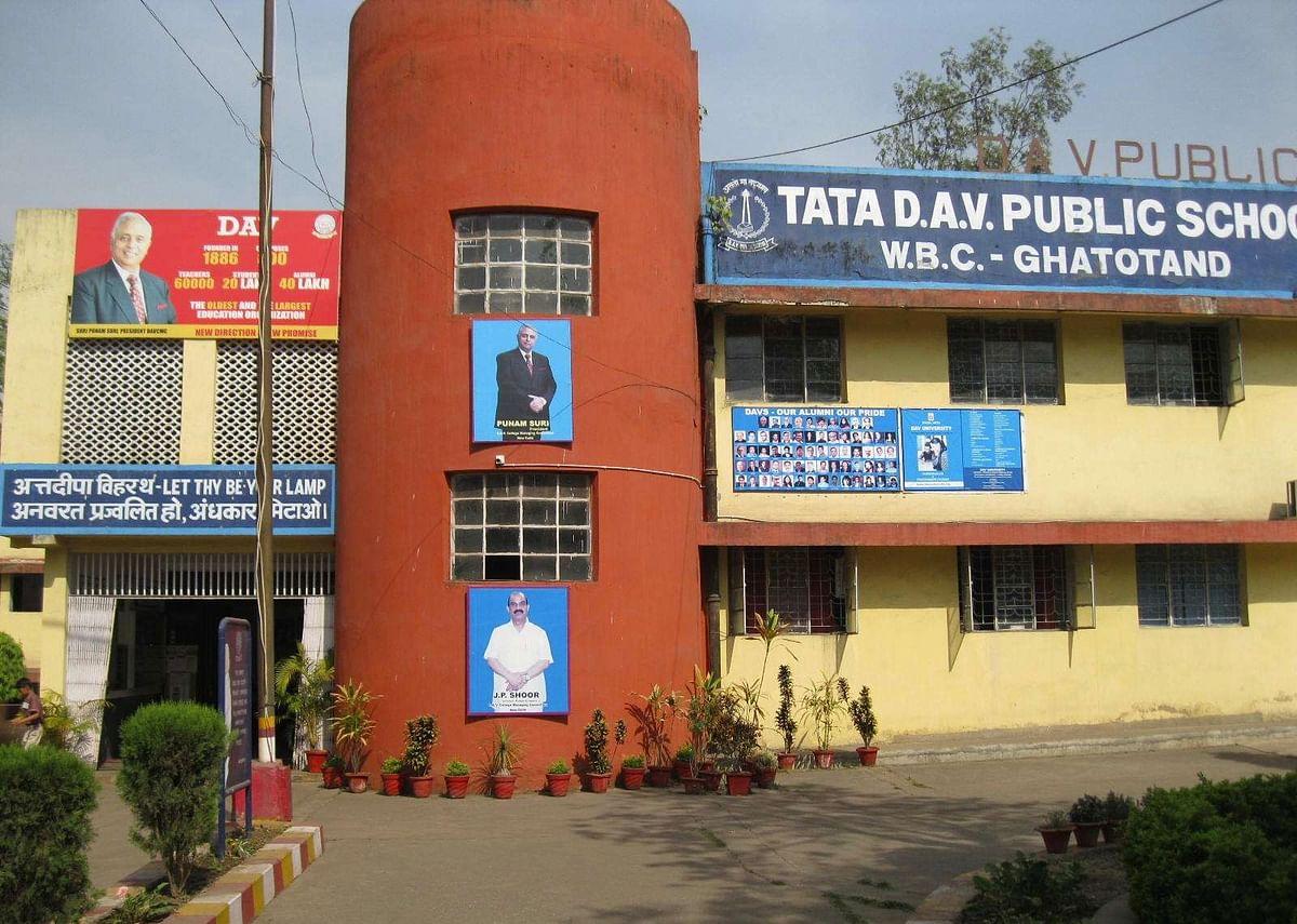 टाटा कंपनी डीएवी स्कूल परिसर में बनाएगी 80 बेड का कोविड- हॉस्पिटल