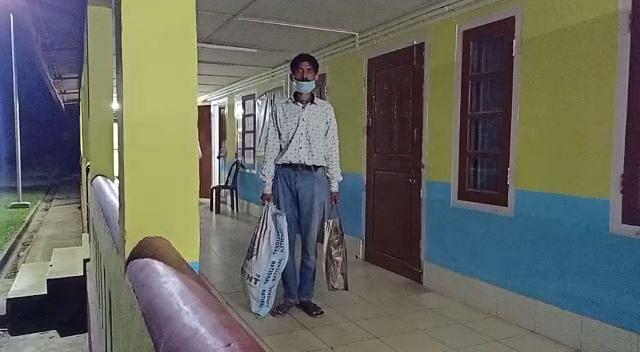 बिश्वनाथ सर्किल अस्पताल से कोरोना संक्रमित मरीज फरार, बरामद