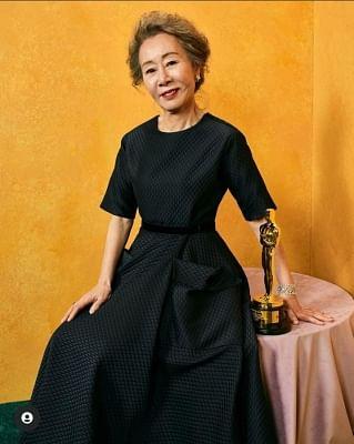 ऑस्कर 2021: कोरियन अभिनेत्री यूं युह जुंग ने मजेदार जवाब दिया, जब उनसे पूछा गया कि ब्रैड पिट में कैसी स्मैल आती है