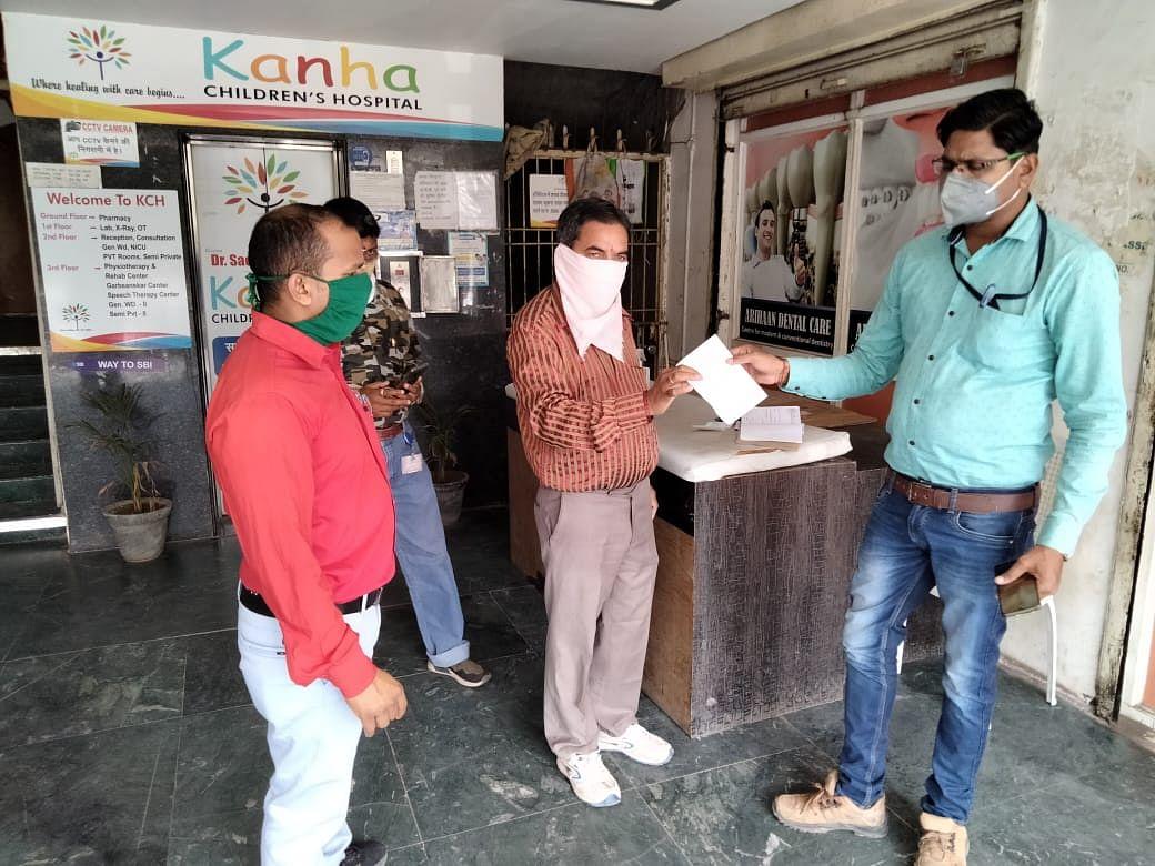 रायपुर : मेडिकल वेस्ट फेंका, अस्पताल पर 25 हजार रुपये जुर्माना