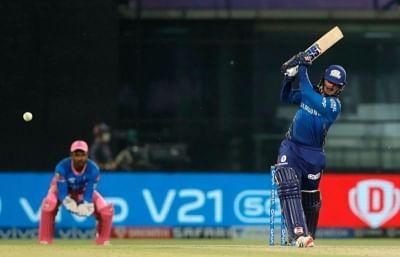 आईपीएल-14 : क्विंटन का नाबाद अर्धशतक, मुम्बई की तीसरी जीत (राउंडअप)
