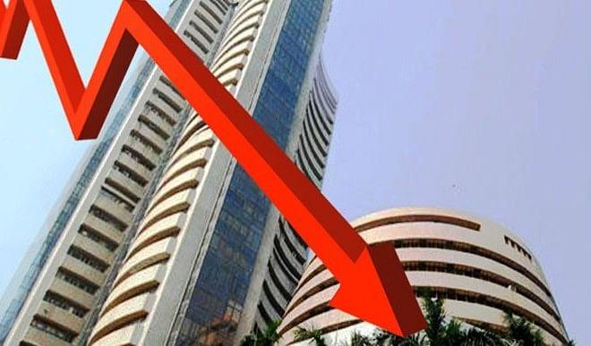 कोविड की नई लहर से घबराया बाजार,निवेशकों के डूबे 8.77 लाख करोड़