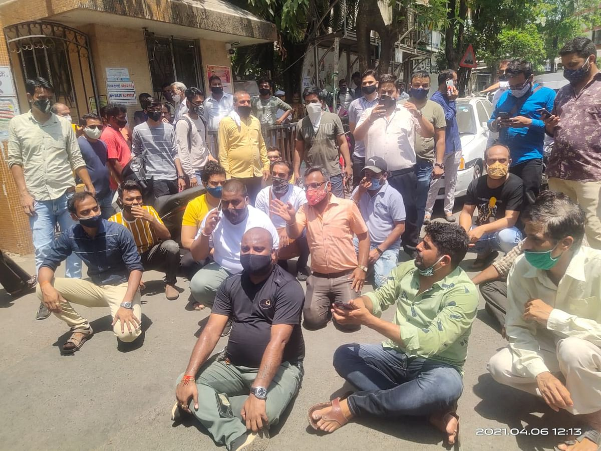 protest-against-lockdown-in-vasai-virar