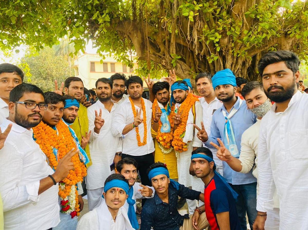 संपूर्णानंद संस्कृत विश्वविद्यालय छात्र संघ चुनाव में चारों सीटों पर एनएसयूआई का कब्जा