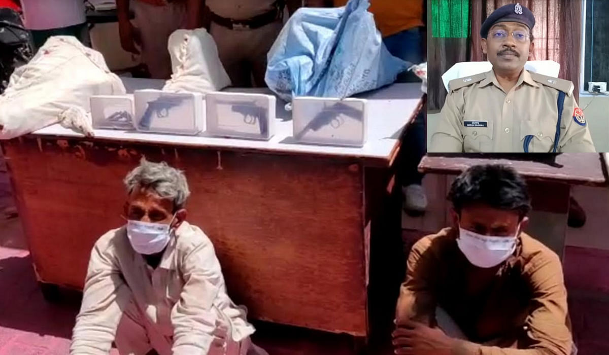 two-arms-factories-operating-in-barsana-busted-two-arrested-made-and-more-weapons-recovered
