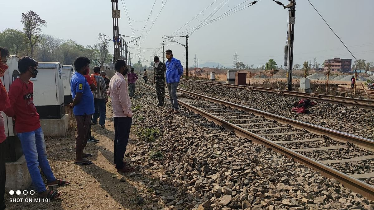 रेलवे ट्रैक पर मिला 12 वर्षीय बच्ची का शव