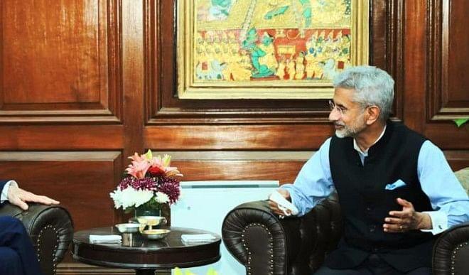 वैश्विक जलवायु कार्य योजना से जुड़े मुद्दों पर विदेश मंत्री जयशंकर ने जॉन केरी से मुलाकात की