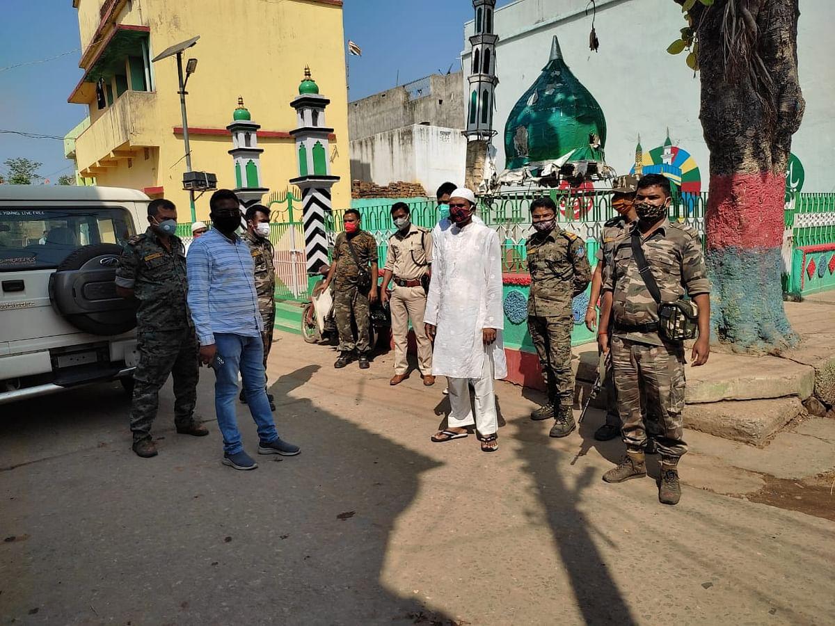 शांति और सौहार्दपूर्ण वातावरण में मनाया गया ईद का त्यौहार