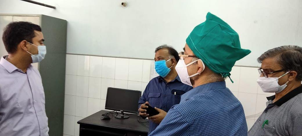 टेलीमेडिसिन के जरिये मरीजों को बेहतर परामर्श दें डाक्टर : सीडीओ
