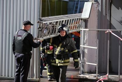 मॉस्को के होटल में आग, 2 लोगों की मौत, 18 घायल