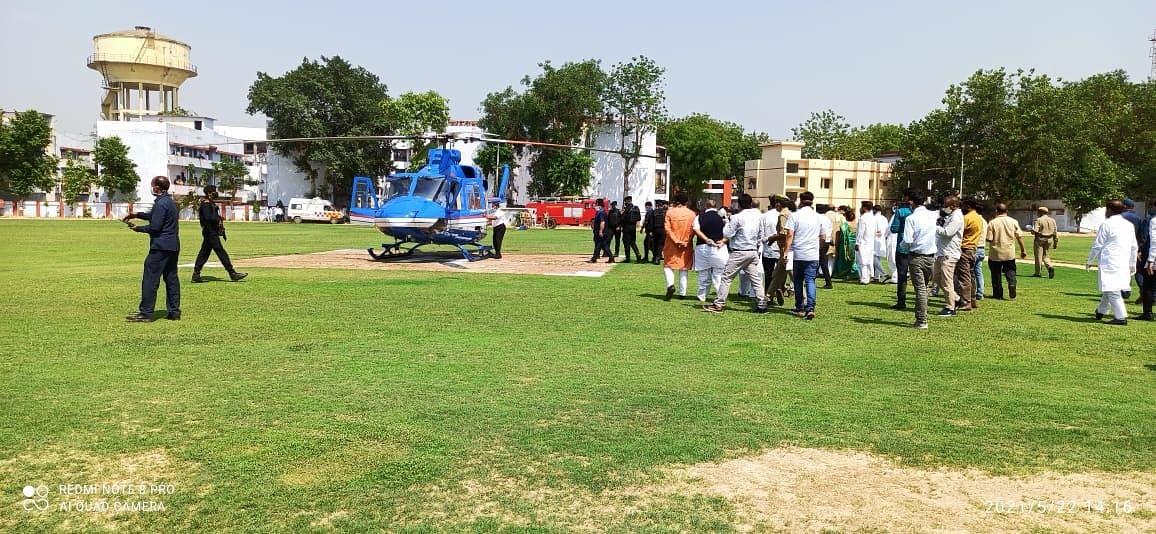 कोरोना काल में दूसरी बार कानपुर पहुंचे मुख्यमंत्री योगी आदित्यनाथ, तीसरी लहर की करेंगे समीक्षा