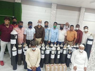 मुंबई पुलिस ने अवैध ऑक्सीजन निर्माण इकाई का भंडाफोड़ किया