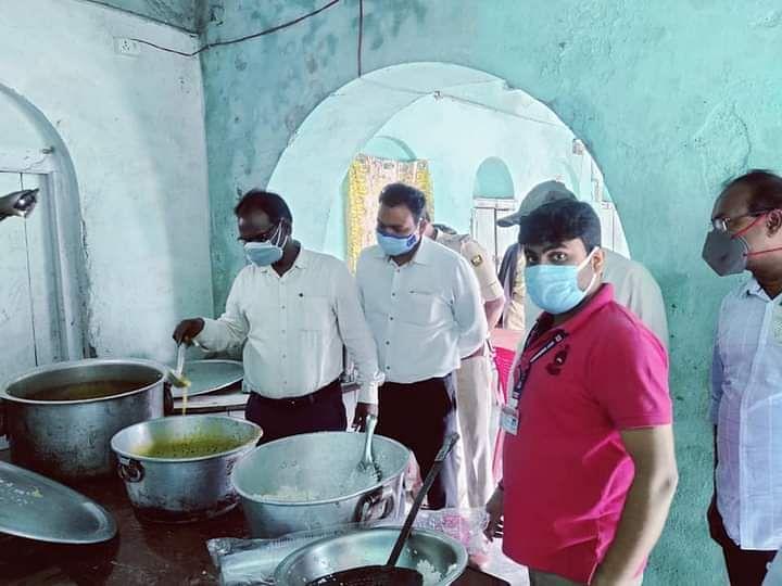 पूर्वी चंपारण में सामुदायिक किचेन शुरू,जरूरतमंद लोगों को मिलेगा भोजन