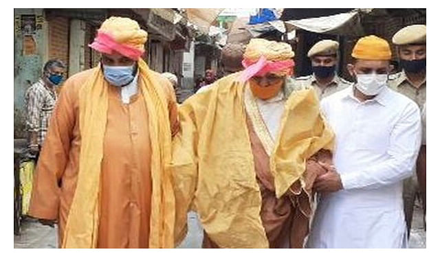 ईदुलफितर का त्यौहार मुस्लिम समाज ने घर पर मनाया