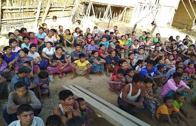 म्यांमार के साढ़े पांच हजार से अधिक नागरिक अबतक मिजोरम शरण लेने पहुंचे