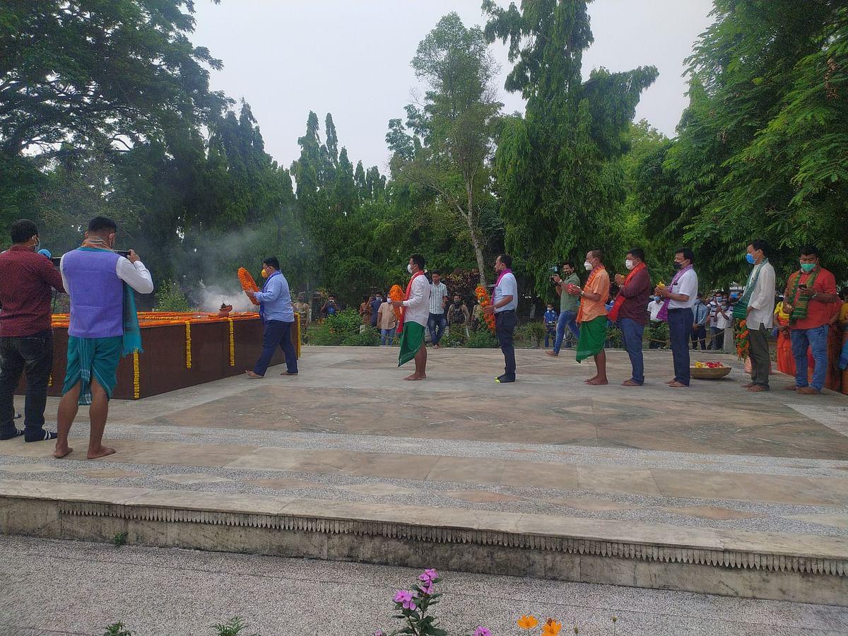 आब्सू ने मनाया बोडोफा उपेंद्र नाथ ब्रह्म की 31वीं पुण्यतिथि