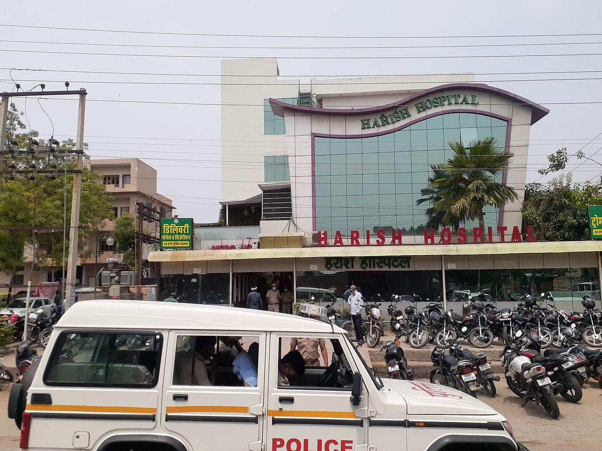 डॉक्टर ने कॉल नही उठाया तो हॉस्पिटल पहुंच अलवर नगर परिषद सभापति ने स्टॉफ से की हाथापाई और हंगामा