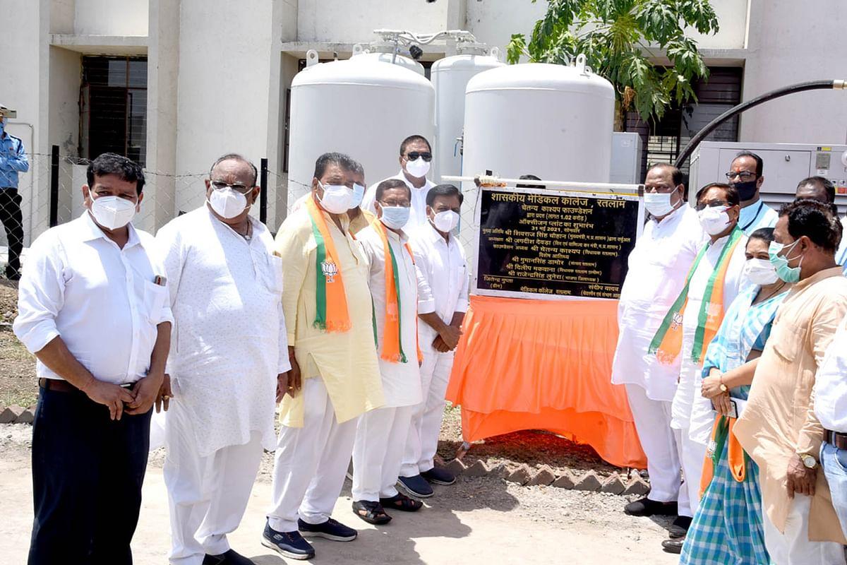 मुख्यमंत्री ने किया चैतन्य काश्यप फाउंडेशन द्वारा स्थापित ऑक्सीजन प्लांट का वर्चुअल उद्घाटन