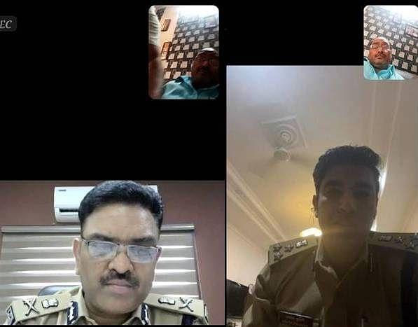 पुलिस आयुक्त असीम अरुण ने व्यापारियों नेताओं के साथ की वर्चुअल मीटिंग
