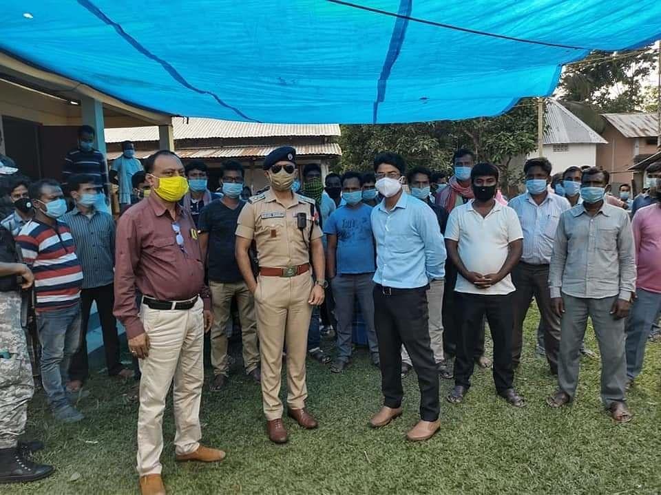 पश्चिम बंगालः हिंसा से डर कर 300 से अधिक भाजपा कार्यकर्ता पहुंचे असम: डॉ विश्वशर्मा