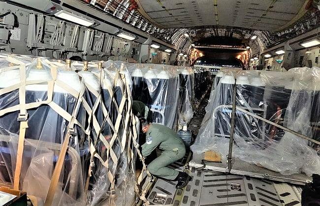 'वायु योद्धाओं' ने 222 उड़ानें भरकर 388 घंटे गुजारे आसमान में