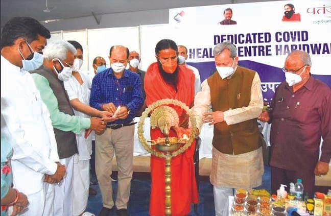 मुख्यमंत्री ने किया 150 बेड के कोविड अस्पताल का उद्घाटन