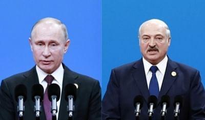 लुकाशेंको पुतिन से मिलने रूस रवाना